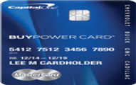 BuyPower Card from Capital One Application