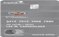 Cadillac BuyPower Card from Capital One Application
