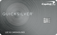 Capital One Quicksilver Cash Rewards Credit Card Application