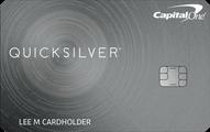 Capital One® Quicksilver® Cash Rewards Credit Card Application