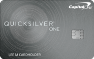 Capital One? QuicksilverOne? Cash Rewards Credit Card