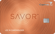 Capital One® Savor℠ Cash Rewards Credit Card