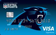 Carolina Panthers Extra Points Credit Card