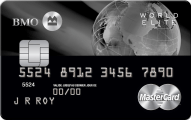 BMO World Elite MasterCard application