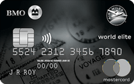 Carte MasterCard<sup>MD</sup>* BMO AIR MILES<sup>MD</sup>&dagger; World Elite<sup>MD</sup>*