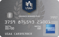 USAA® Cashback Rewards Plus American Express® Card