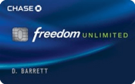 Chase Freedom Unlimited Application