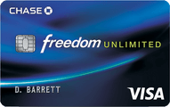 Chase Freedom Unlimited® Application