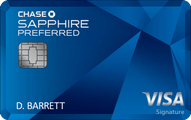 Chase Sapphire Preferred® Card Application