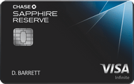 Chase Sapphire Reserve Application