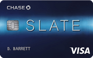 Slate from Chase Application