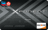 Chevron and Texaco XPONENT Rewards Prepaid Card Application