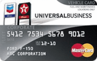 Chevron and Texaco Universal Business MasterCard