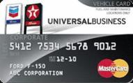 Chevron and Texaco Universal Business MasterCard