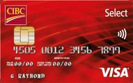 CIBC Select Visa Card Application