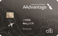 Citi AAdvantage Executive World Elite MasterCard Application