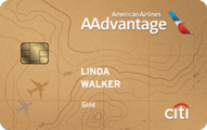 Citi / AAdvantage Gold World Elite Mastercard Application