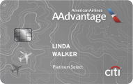 Citi� Platinum Select� / AAdvantage� World MasterCard�