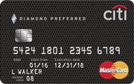 Citi Diamond Preferred card