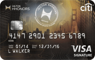 Citi� Hilton HHonors<sup>TM</sup> Visa Signature� Card