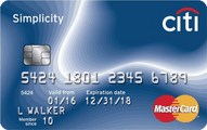 Citi Simplicity® Card Application