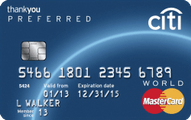 Citi ThankYou� Preferred Card - Earn 20,000 Bonus Points  Application