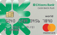 Citizens Bank Cash Back Plus World Mastercard Application