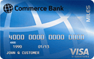 Commerce Bank Miles credit card review