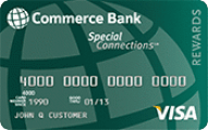 Commerce Bank Special Connections Visa with Rewards Application