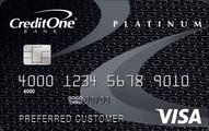 Credit One Bank Platinum Visa Rewards Card Application
