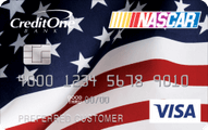 Official NASCAR Credit Card from Credit One Bank Application
