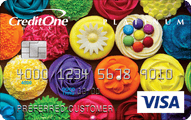 Credit One Unsecured Visa Card Application