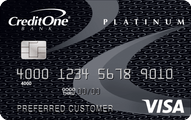 Credit One Bank Unsecured Platinum Visa Application