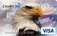 Credit One Unsecured Platinum Visa Card Application