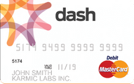 Dash Prepaid MasterCard for Business Application