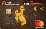 UWAA FirstRewards World Mastercard®