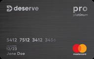 Deserve Pro Mastercard Application
