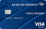 Bank of America® Travel Rewards Visa® credit card