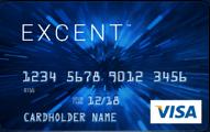 Excent Secured Visa Blue Card Application