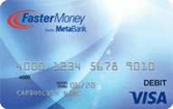 FasterMoney Visa Prepaid Application
