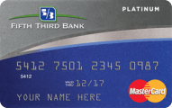 Fifth Third Bank Platinum MasterCard Application