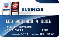 Chevron and Texaco Business Card