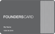 FOUNDERSCARD - Exclusive Membership (NOT A CREDIT CARD) Application