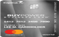 GM BuyPower Business Card from Capital One Application