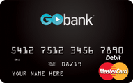 GoBank Checking Account Application