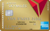 Gold Delta SkyMiles Business Credit Card Application