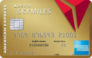 Gold Delta SkyMiles Credit Card from American Express Application
