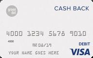 Green Dot® Cash Back Visa® Debit Card