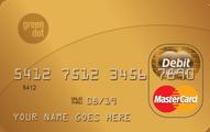 Green Dot Reloadable Prepaid MasterCard Application