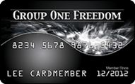 Group One Freedom Card Application